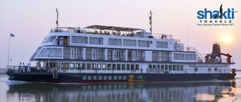 M V Mahabaahu Upstream Cruise India  - 5 Nights