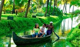 Trivandrum - Alleppey - Thekkady - Munnar