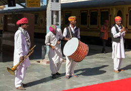 Royal Journey by Palace On Wheels