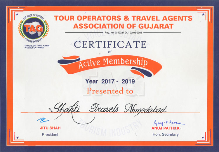 Tour Operators & Travel Agents Association of Gujarat