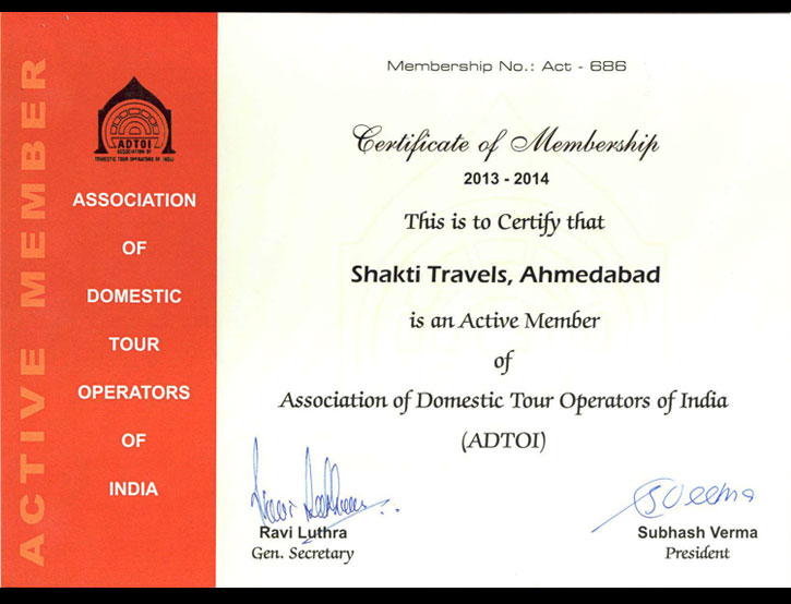 Assocation of Domestic Tour Operator